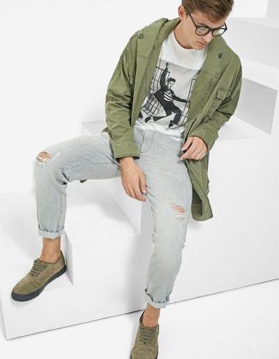 Jeans cónicos