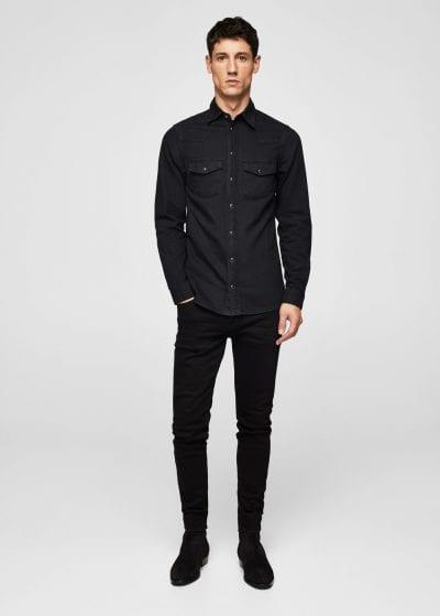 Ideas estilosas para combinar una camisa vaquera for Combinar camisa vaquera negra hombre