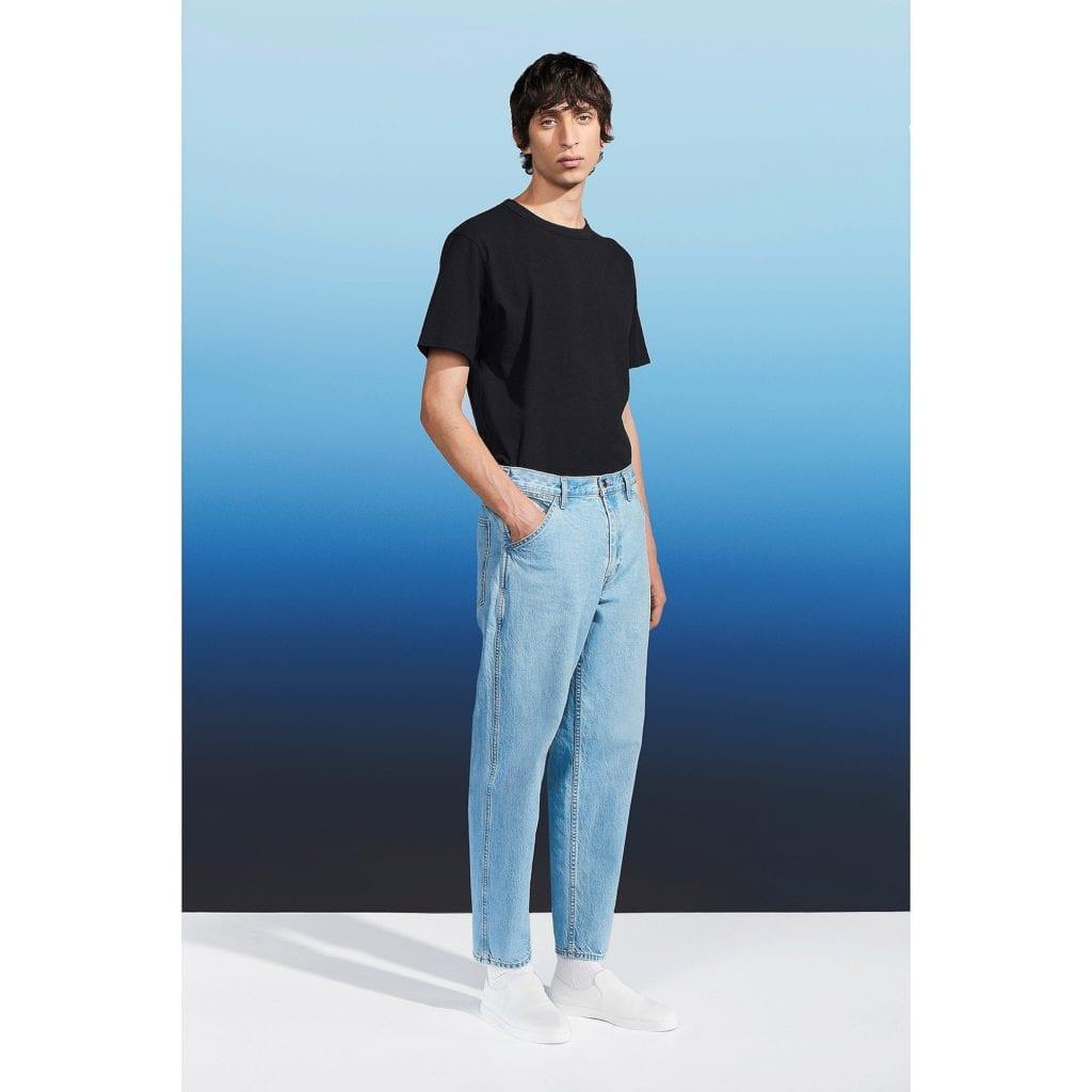 Jeans sueltos de Uniqlo