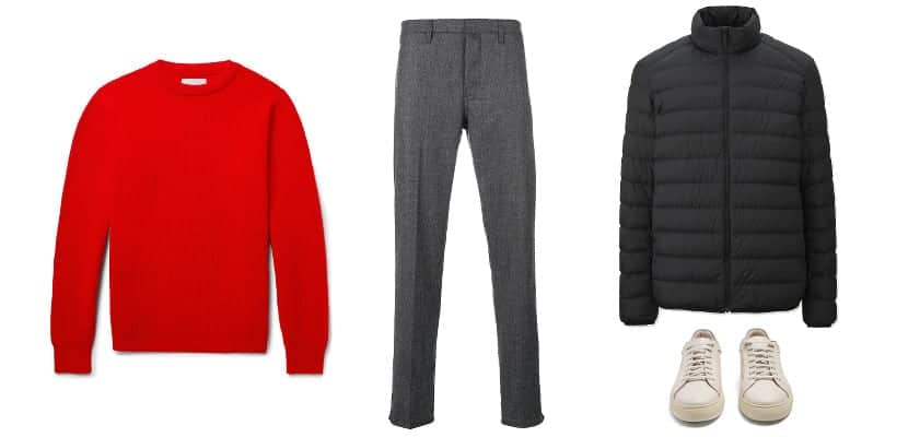 Total look simple e invernal