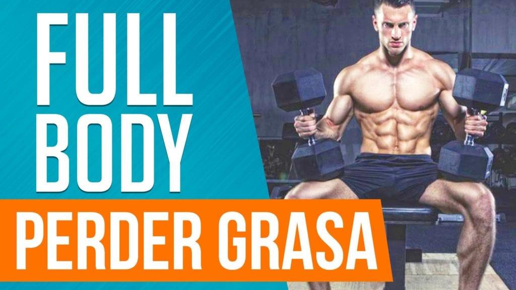 Programas full body para perder grasa