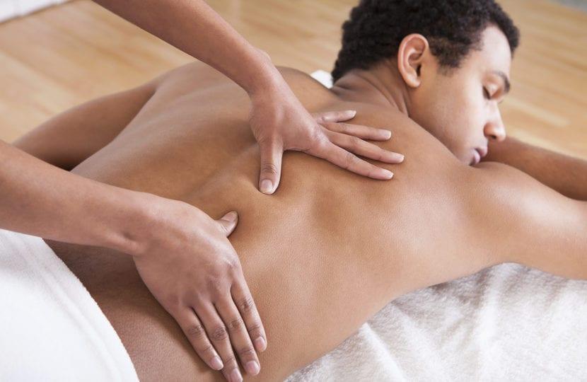 masaje para contractura