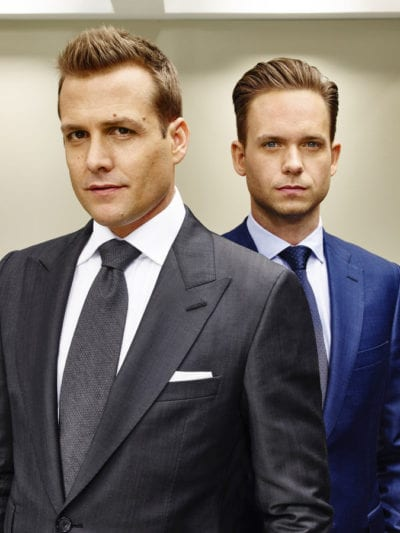 Corte de pelo degradado en la serie 'Suits'