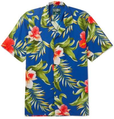 Camisa hawaiana de Gitman Vintage