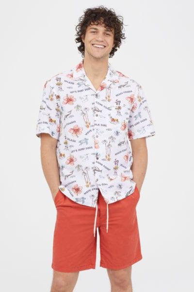 Camisa hawaiana de H&M