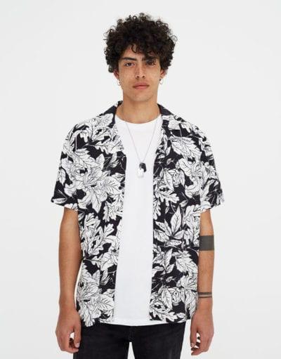 Camisa hawaiana de Pull & Bear