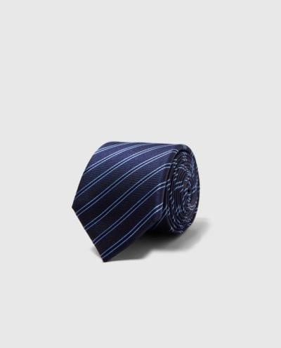 Corbata de rayas de Zara