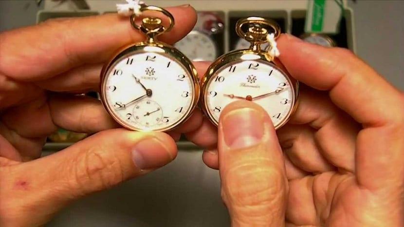 Tipos de relojes de bolsillo