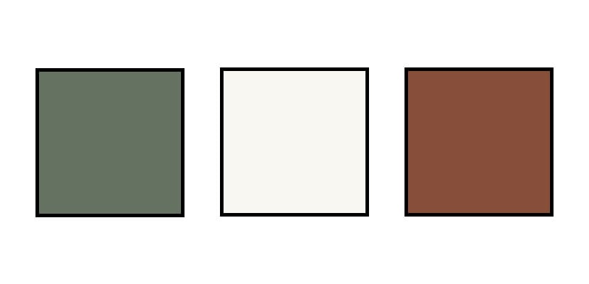 Combinación de colores para pantalón de traje verde