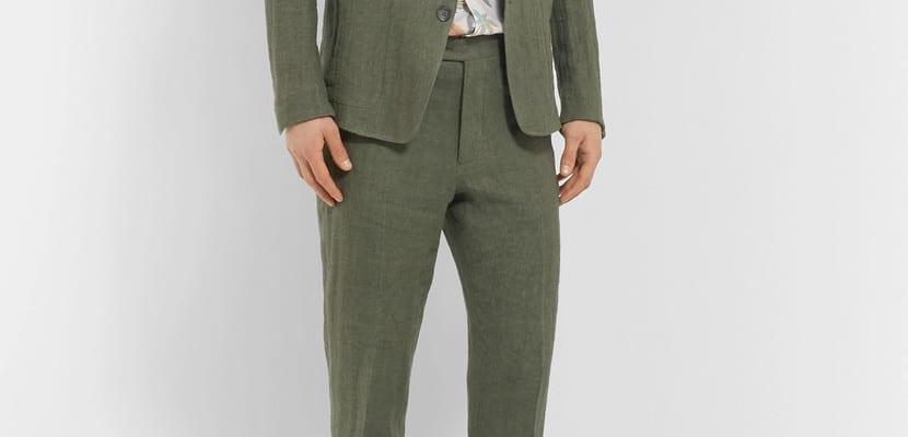 Combinar el pantalón verde: cómo hacerlo correctamente