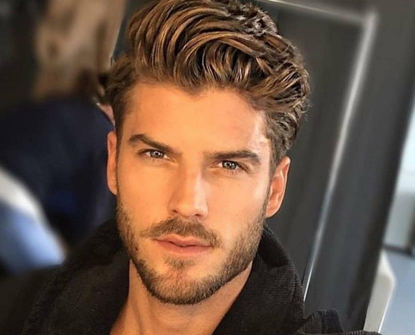 Peinados modernos hombre