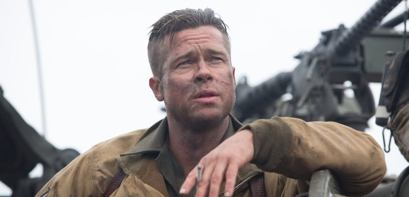 Brad Pitt en 'Fury'