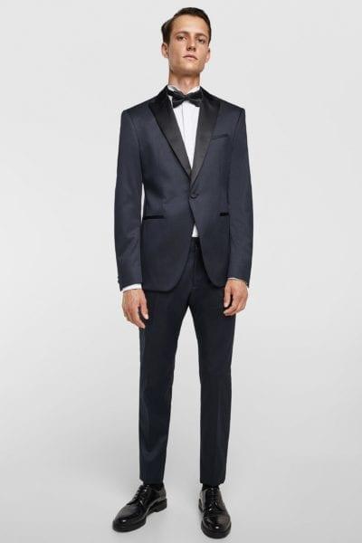 Traje de Zara estilo esmoquin