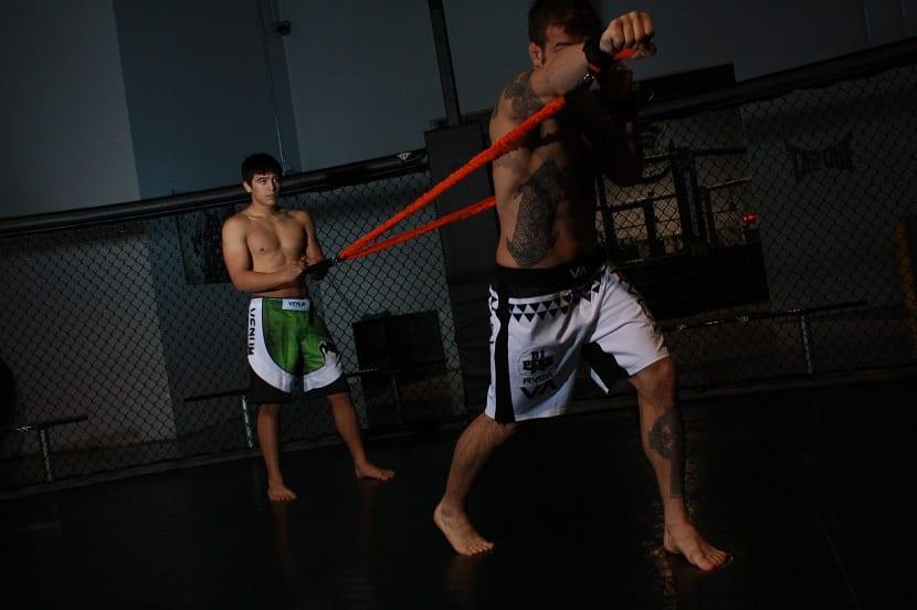 Ejercicios bandas elasticas para ganar fuerza