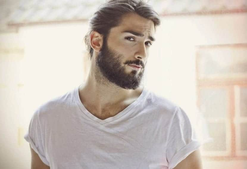 comer saludable para tener barba
