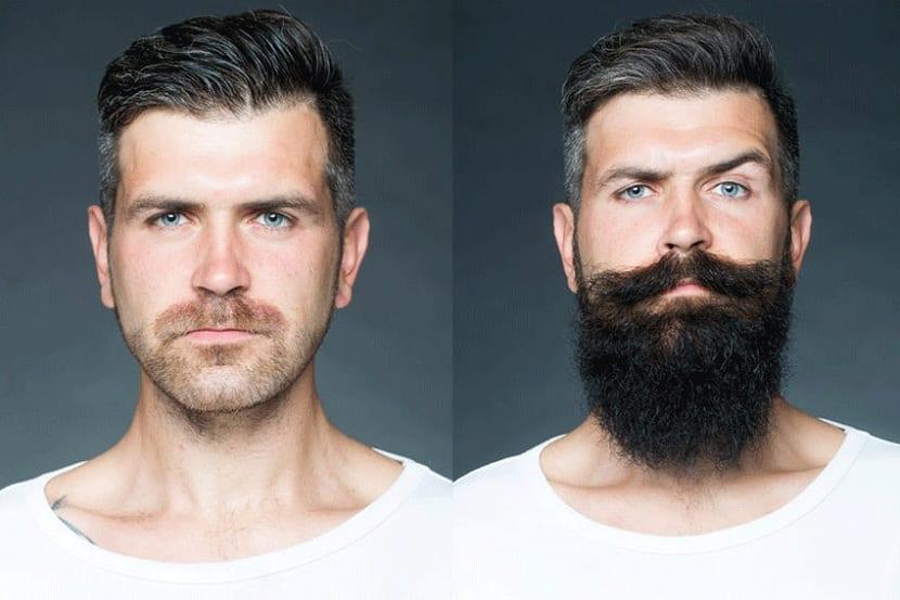 diferencias de tener barba o no