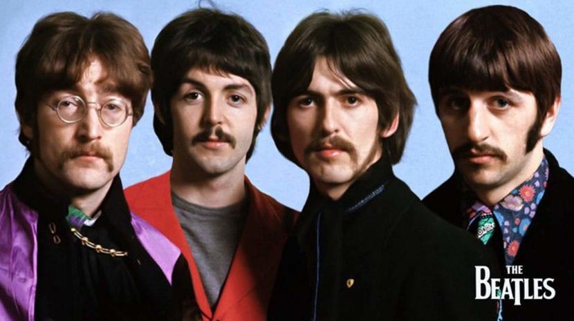 Los Beatles en la película 'Help!'