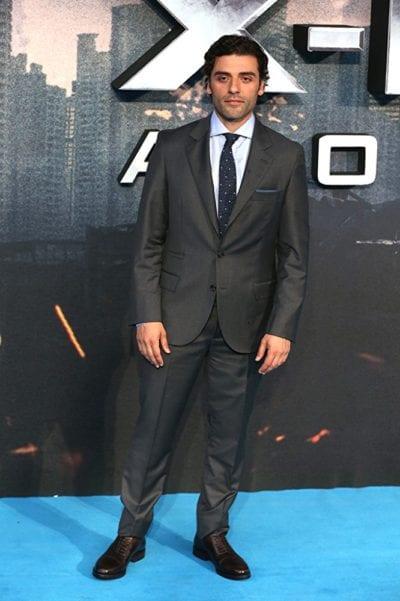 Oscar Isaac en el estreno de 'X-Men'
