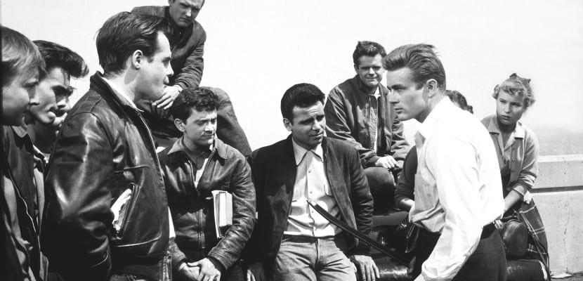 Escena de la película 'Rebelde sin causa'