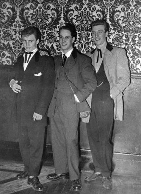 Teddy boys de los años 50