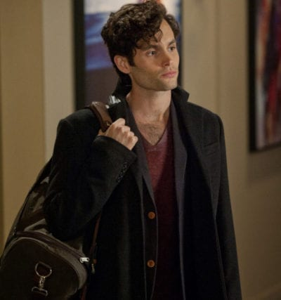 Penn Badgley en 'Gossip Girl'