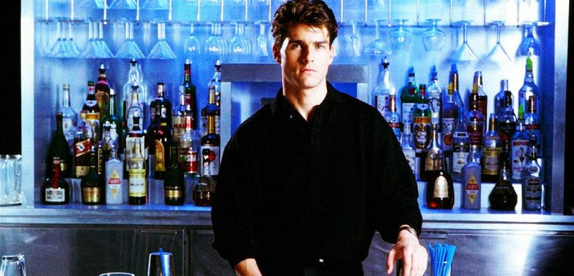 Tom Cruise dans 'Cocktail'