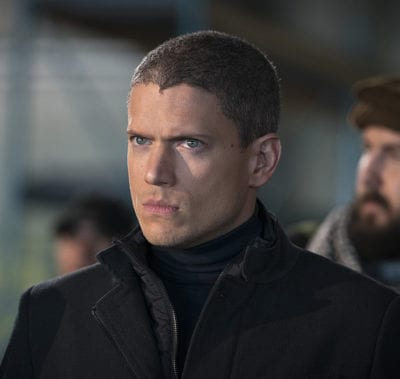 Wentworth Miller en 'Legends of Tomorrow'