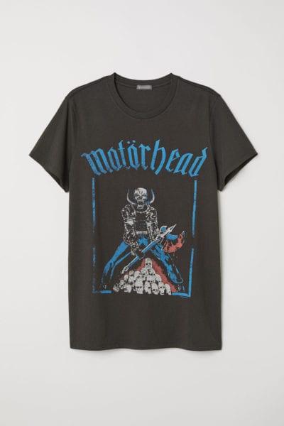 Camiseta de Motörhead de H&M