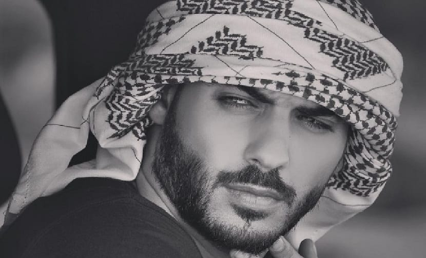 modelo árabe mas guapo