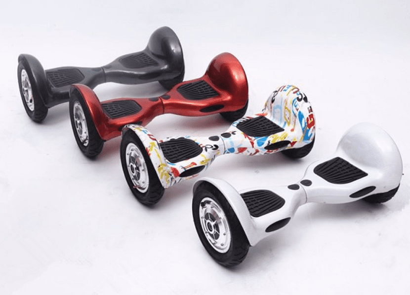 modelos diferentes de hoverboards