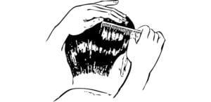 Peinar el pelo corto