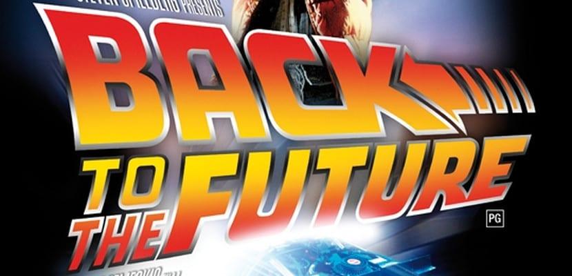 Cartel de 'Regreso al Futuro'