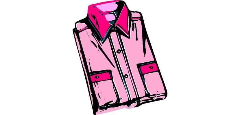 Camisa doblada