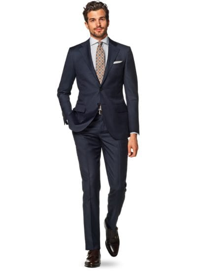 Traje azul marino de Suit Supply