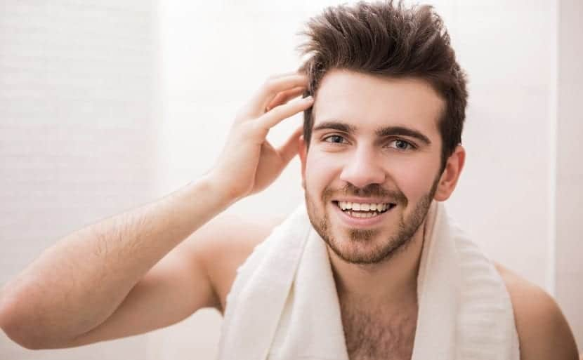 Buen aspecto en el cabello