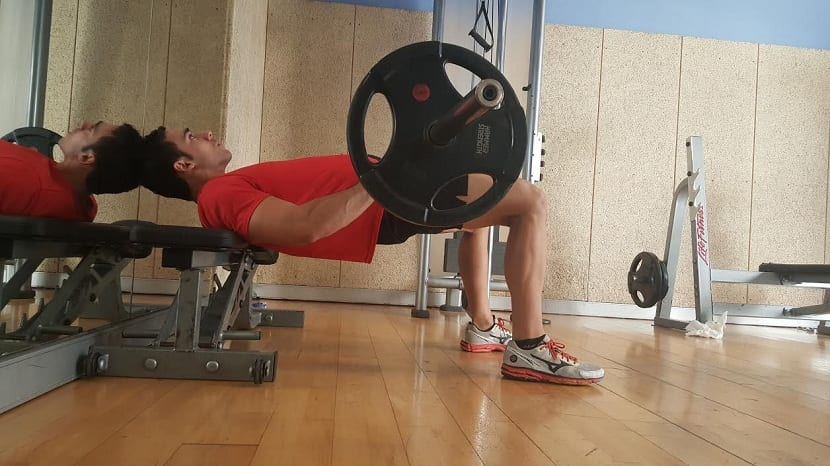 Errores al realizar hip thrust