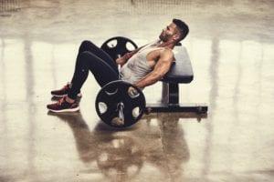 Pesos adecuados para realizar el hip thrust