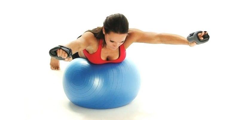 Calidad de ejercicios de fitball