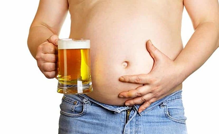 Consommation d'alcool et de panse de bière