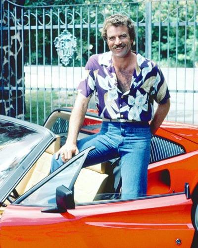 Camisa hawaiana de los 80