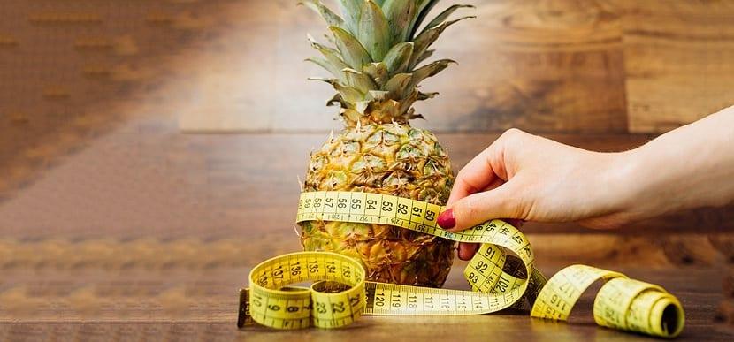 Como hacer la dieta de la piña