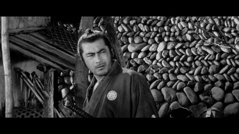 Peinado samurái en 'Yojimbo'