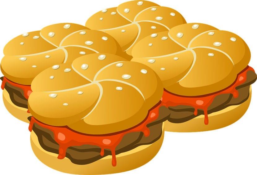 Hamburguesas fast food
