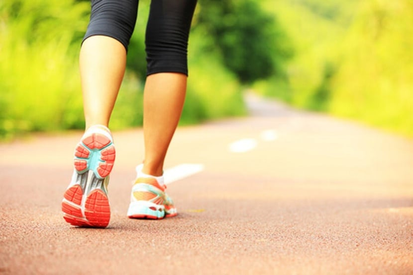 Beneficios de caminar al aire libre