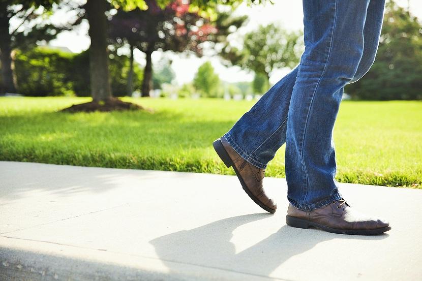 Mejora de la salud al caminar