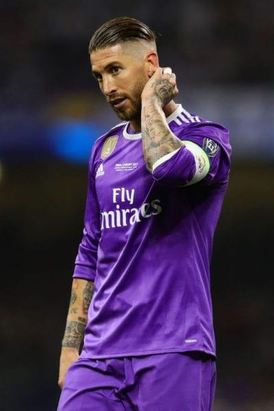 Sergio Ramos con undercut