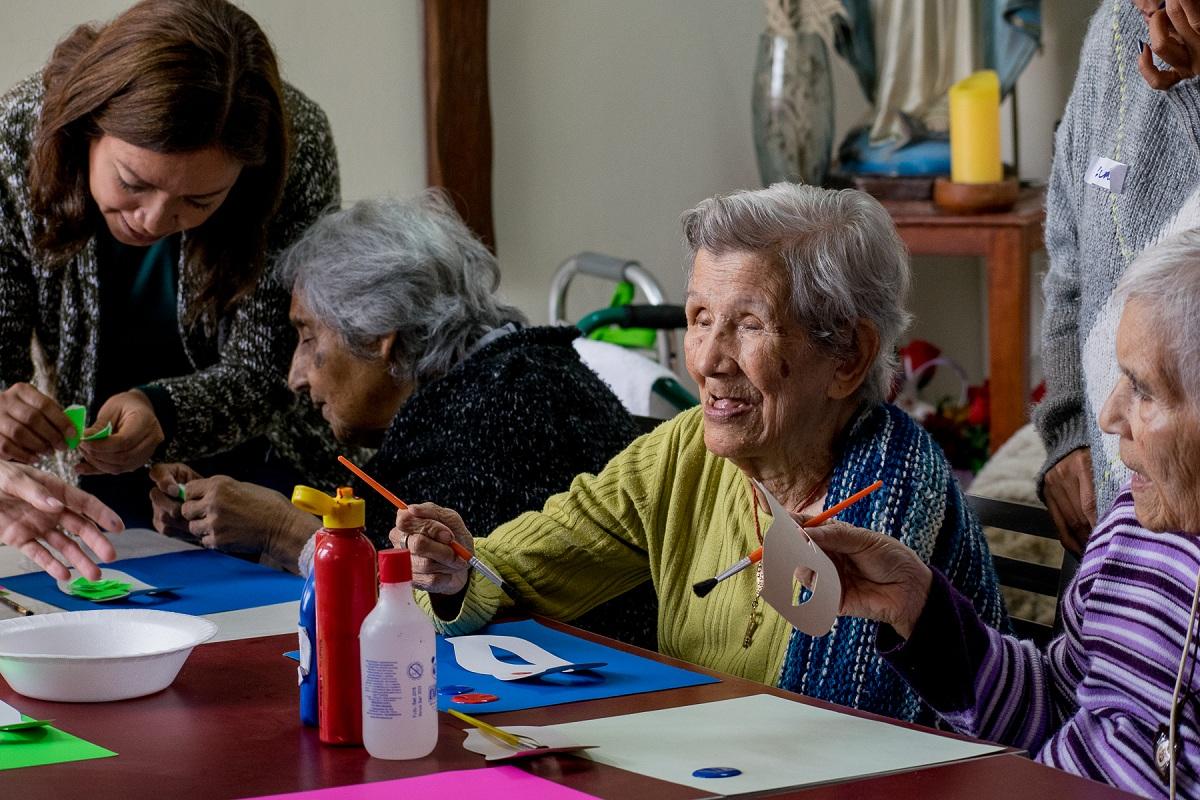 Creatividd para personas mayores