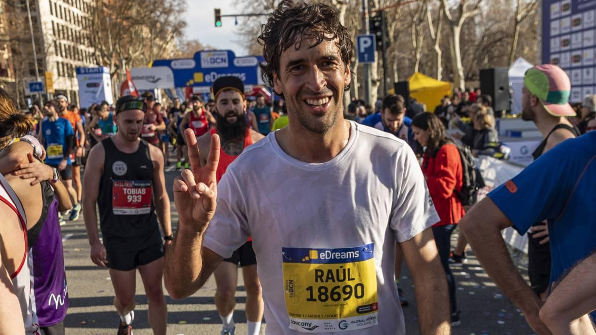 Raúl en media maratón
