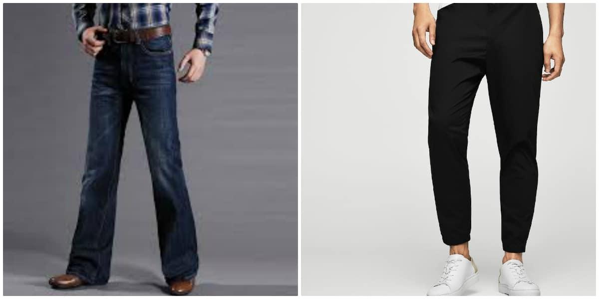 pantalones atheleisurey de campana