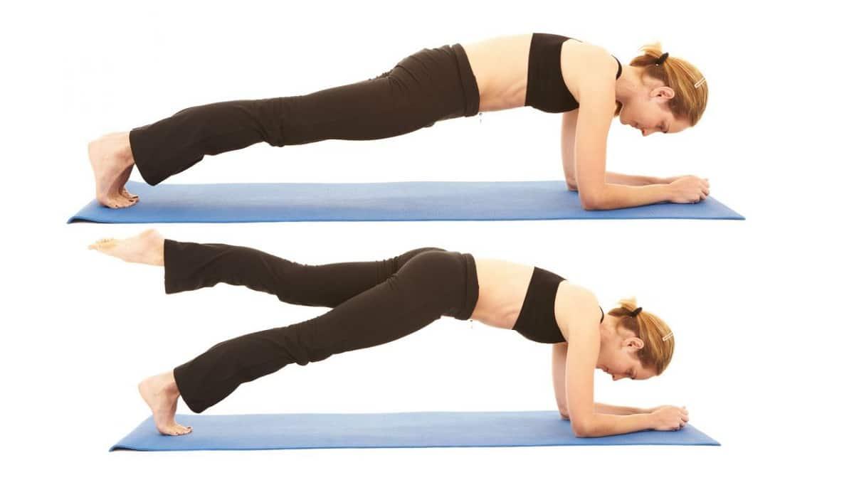 variantes de planchas abdominales